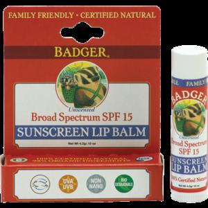 summer skin care lip balm spf