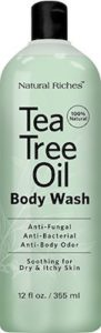 summer skin care tea tree body wash