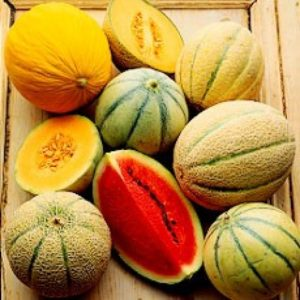 summer skin care melons