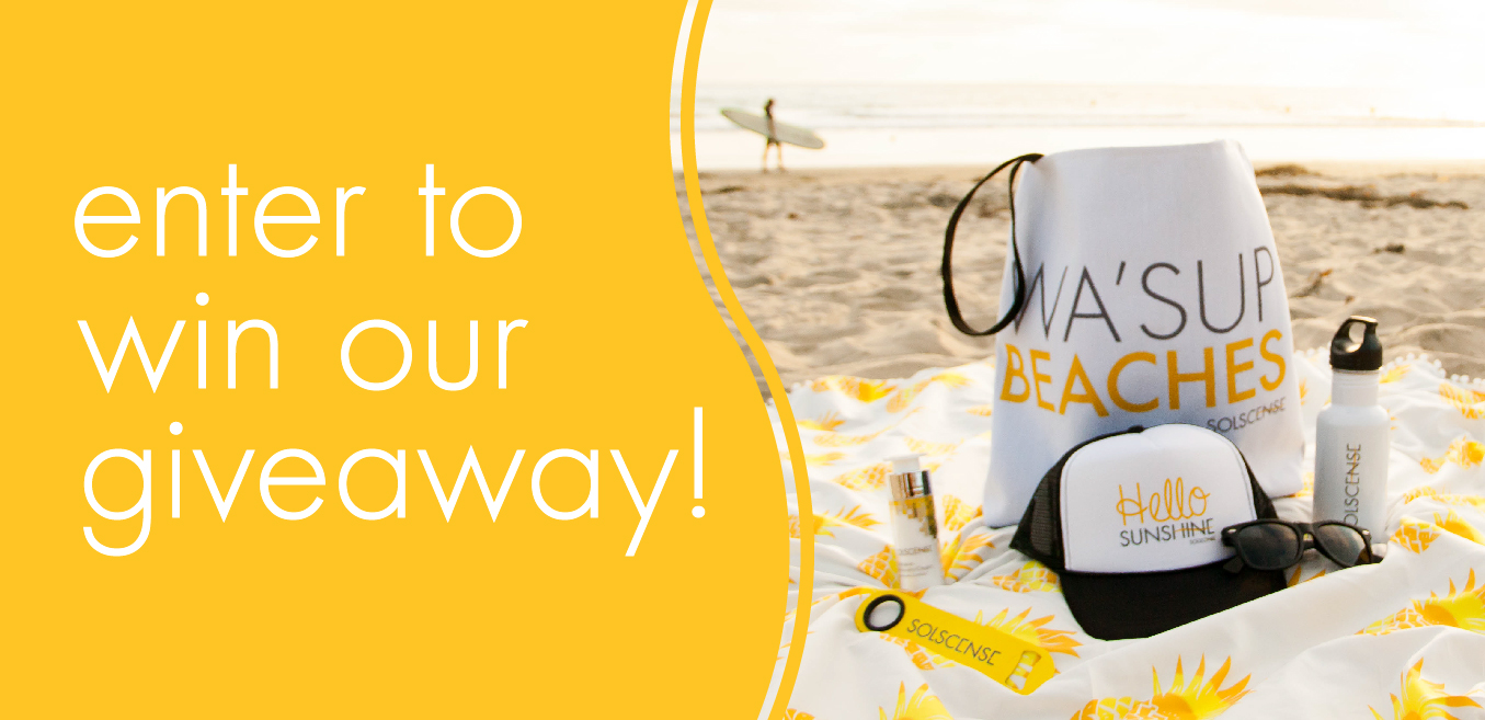 Enter to Win our Solscense Giveaway