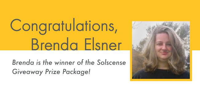 Congratulations Brenda Elsner!