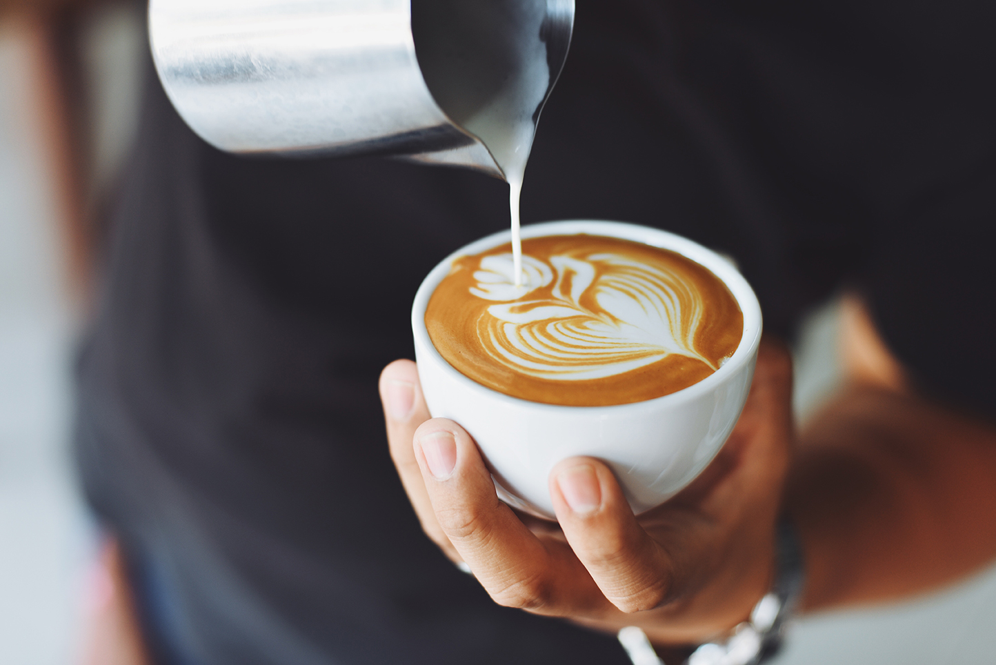 Cup of Coffee made by barista