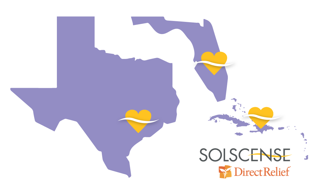 Solscense is Supporting Hurricane Efforts with Direct Relief