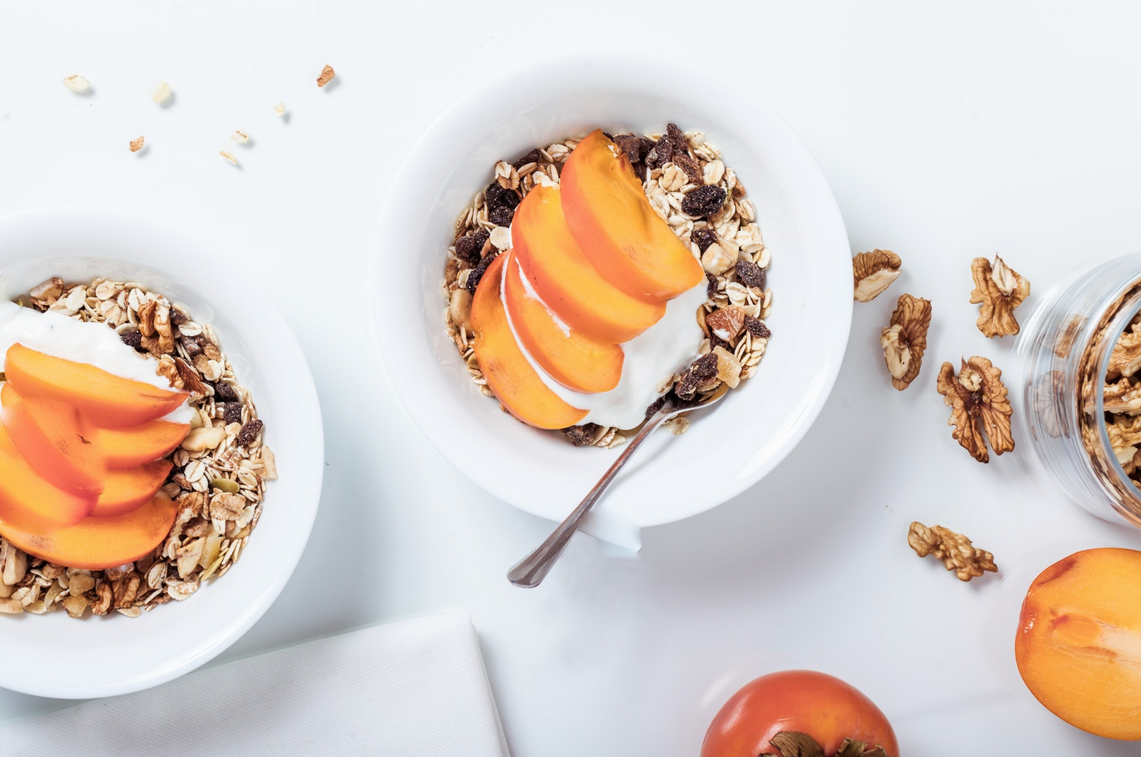 Peach Granola Bowl